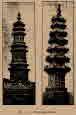 풍수와 관련된 두 개의 탑